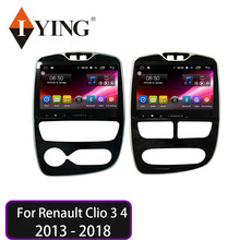 IYING Android 9.0 Per Renault Clio 3 4 2013 - 2018 4G WIFI 8core autoradio Multimedia Video navigazione di gps di lettore No 2 din dvd(China)