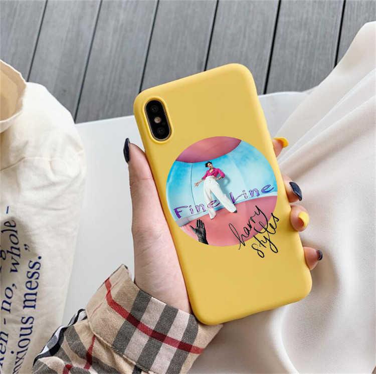 ハリースタイルツアーで 2020 ケース iphone 11 プロ XR 7 プラスケースシリコーンハリースタイル細線電話ケース iphone 6S XS