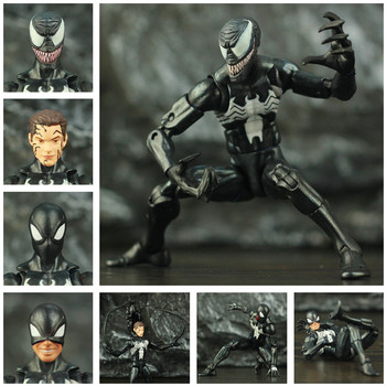 Black Spider Man Symbiote Action Figure 6Inch 1