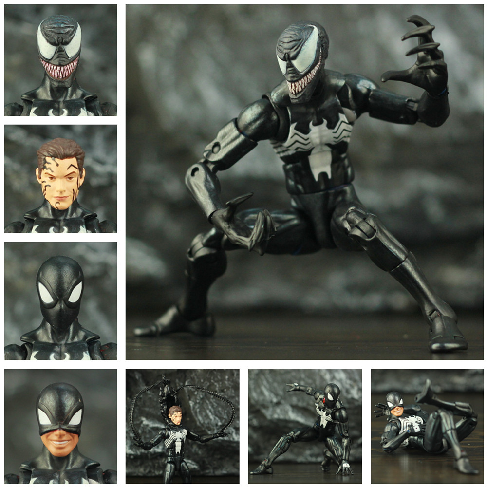 Custom Marvel Symbiote Black Spider Man 6