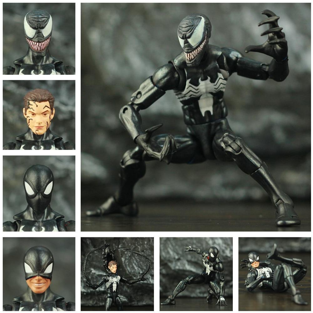 Custom Marvel Symbiote Black Spider Man 6