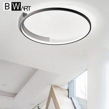 Bwart moderno conduziu a luz de teto para sala estar quarto cozinha minimalismo design lâmpada do teto luminária