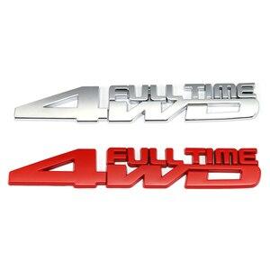 Image 3 - 4WD Full Time รถป้ายสติกเกอร์สำหรับ Toyota Celica GT4 Hummer Land Cruiser Volkswagen Phaeton Passat Ford Focus RS ST cosworth