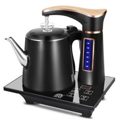Elektrikli tam otomatik su ısıtıcısı çaydanlık seti 0.8L paslanmaz çelik güvenlik otomatik kapanma su sebili semaver pompalama sobası ev