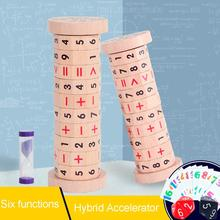 Kids Toy Wooden Children Cylindrical Magic Math Number Digital Math Learning Educational Toy Gift mental math revamp the learning