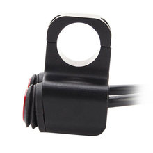 12V 7/8 CNC Stang untuk Sepeda Motor On Off LED Headlight Switch Tahan Air(China)