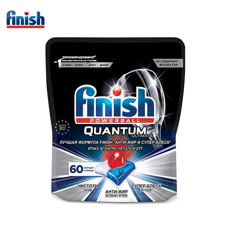FINISH Ultimate Капсулы для посудомоечных машин 60 шт