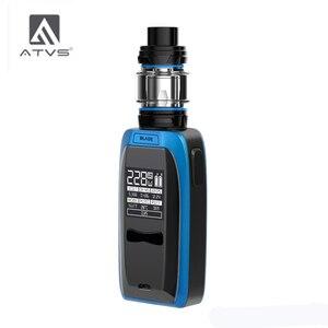Image 3 - Atv 228W Blade elektronik sigara kiti ile 18650 kutu Mod 5ml 510 iplik tankı 228W maksimum çıkış büyük güç 18650 pil ile