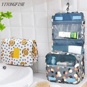 Large Grooming Kit Women Makeup Bags Travel Cosmetic Bag Toiletries Organizer Waterproof Storage Bathroom Wash Hanging - discount item  19% OFF Special Purpose Bags