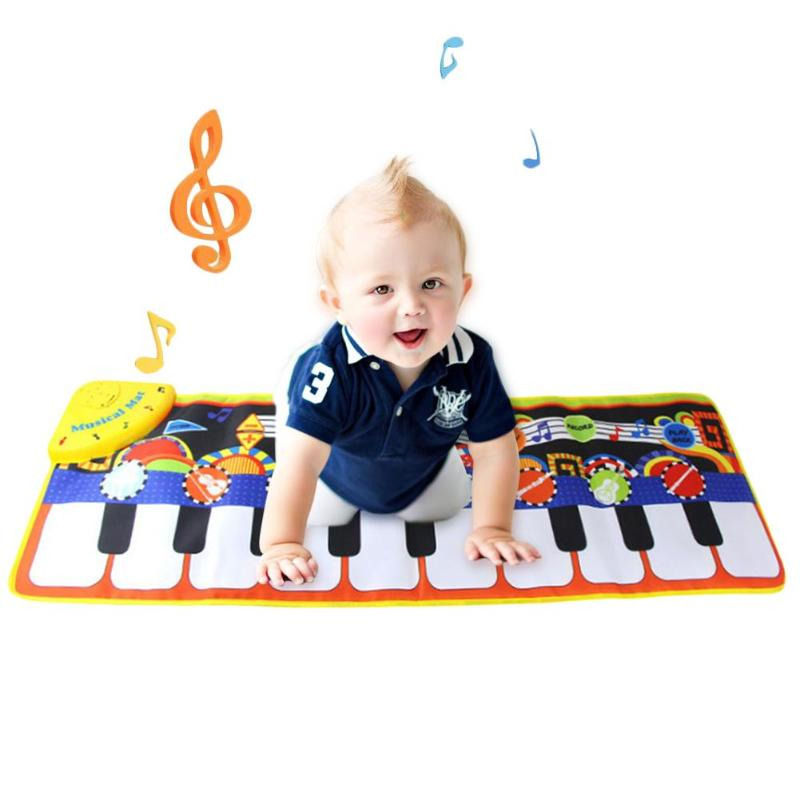 Baby Music Piano Mat Personality Especially Creative Added Interest Toddler Musical Blanket Carpet Keyboard Playing Pad Toys
