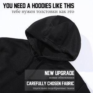Image 4 - คนแปลกหน้า Hoodie ผู้หญิง Hoodie Sweatshirt กีฬาขนาดใหญ่ Hoodie 2019 แฟนเสื้อ 4XL สีขาวสินค้า