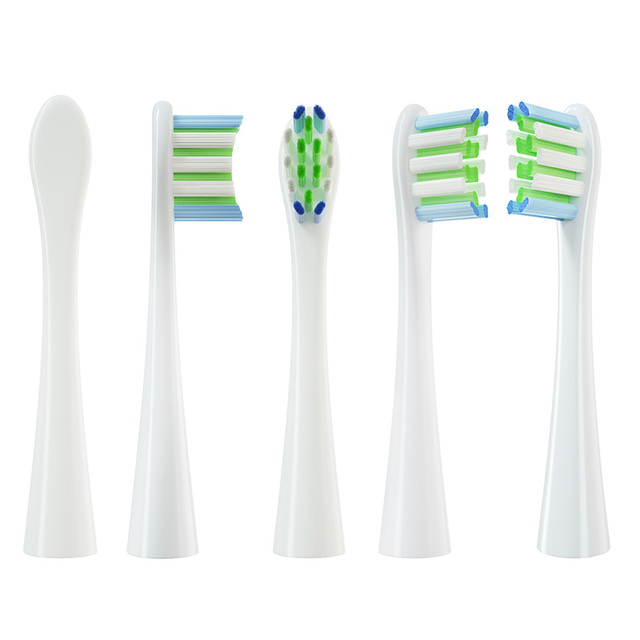 Replacement Brush Heads for Oclean X/ X PRO/ Z1/ F1/ One/ Air 2 /SE Sonic Electric Toothbrush Soft DuPont Bristle Nozzles 10 Pcs 6