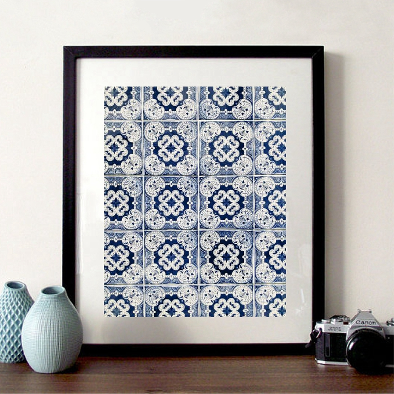 Arabic Pattern Poster Home Decor