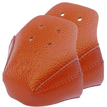 Roller Skates lychee pattern Leather Toe Cap Guard Six Color Roller Skate Toe Protector