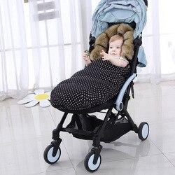 Детская коляска для сна, зимний теплый спальный мешок, ветрозащитные конверты для инвалидных колясок, конверт для младенцев, спальные мешки...