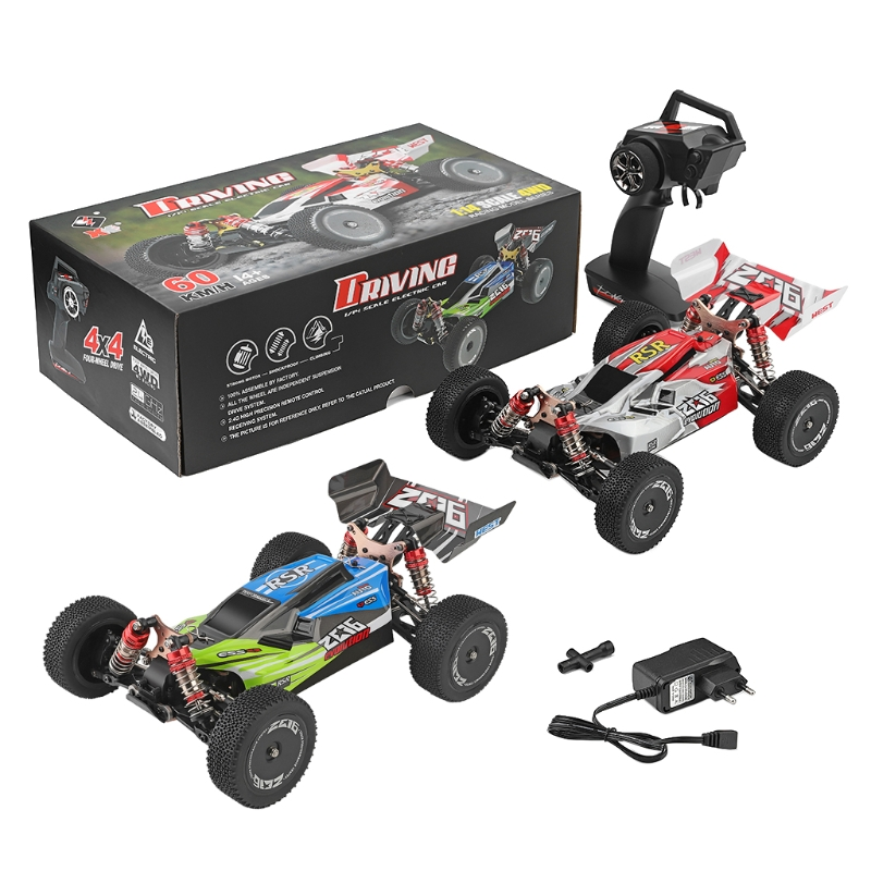 RC Car Drift Racing Cars 2.4GHz 4WD for 1/14 Scale WLtoys 144001 RTR Off-Road Vehicle Toy