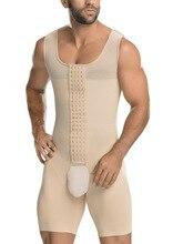 Männer der Shapewear Body Bauch steuer Kompression Abnehmen Body Shaper Workout Abs Bauch Unterhemden Slim Fit Straffen Korsett