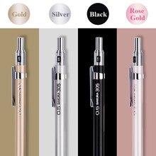 SAKURA – crayon mécanique automatique avec coque en métal, 0.3/0.5mm, Graphite, fournitures de bureau, papeterie artistique XS-303/305