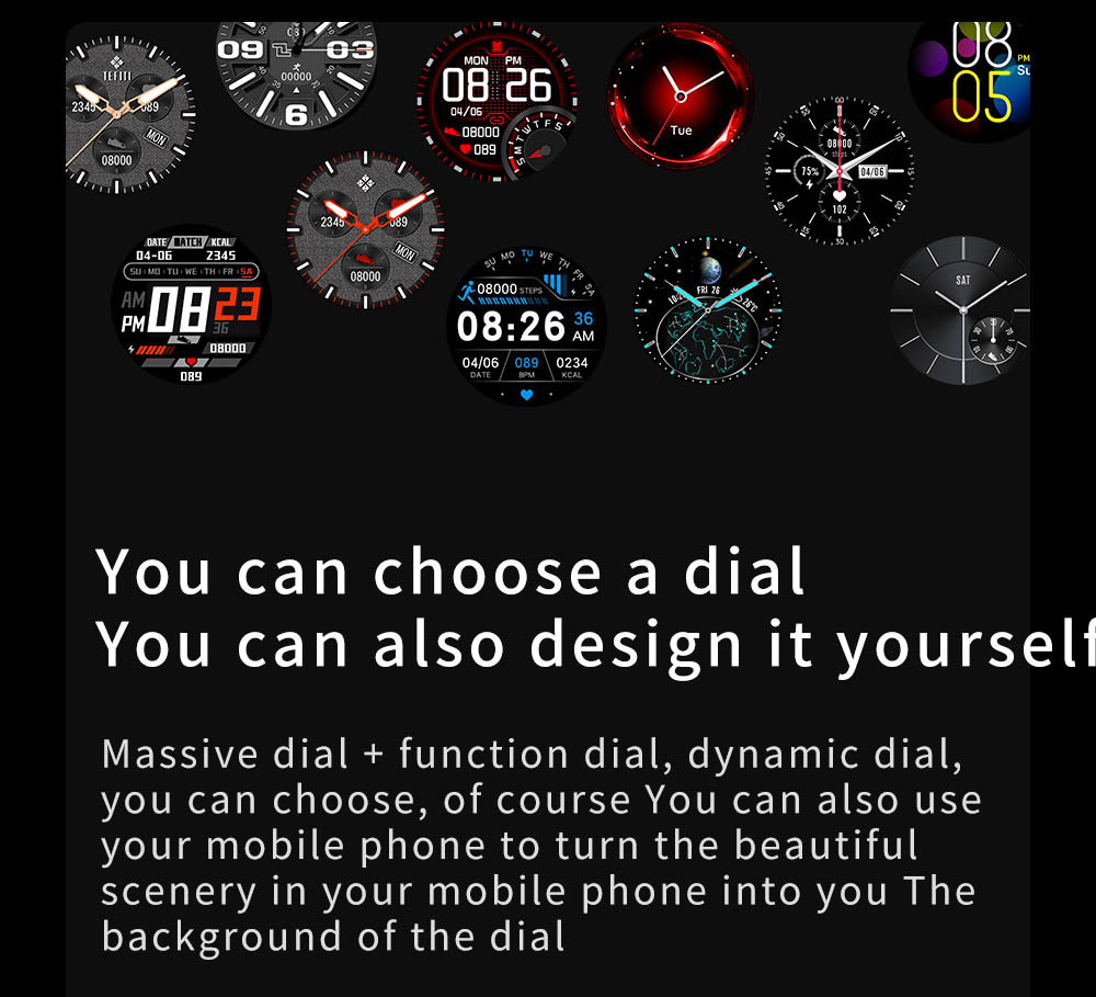 H13462f566df04d06bd3d803a22ff39deF Smart Watch Men Women IP68 Waterproof Bluetooth 5.0 24 Exercise Modes Smartwatch E1-5 Heart Rate Monitoring for Android Iosr A