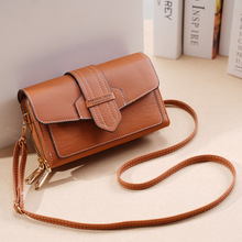 Luxury Retro Zip Lady Purse Leather Handbag high quality shoulder bag designer cross body bag fashionable lady handbag