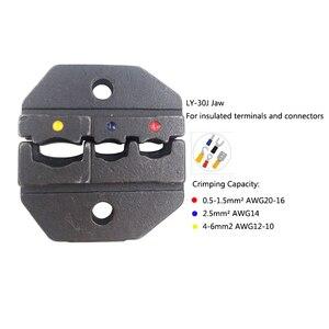 Image 5 - 2546B Tang Met 3 Kaak Handgereedschap Kit Verwijderbare Krimptang Geschikt Voor Solar Pv Connectors/Geïsoleerde/Blote terminals