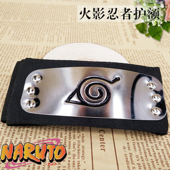 Anime Naruto Headband bandage Black Leaf Village Kakashi Akatsuki Itachi Cosplay Costume Cartoon Props Accessories - discount item  15% OFF Costumes & Accessories