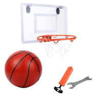 Basketball Toy Funny Portable Basketball Toy Set Basketball Rack Basketball Shooting Toy for Teens Children