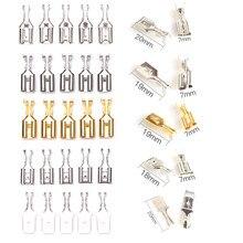 50 adet sıkma terminalleri 6.3mm 6.3 sıkma terminali erkek kadın Spade konnektör sıkma terminalleri