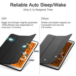Image 5 - ESR for iPad Mini 5 Case Soft Flexible Rubberized Trifold Shockproof Smart Case with Pencil Slot for iPad Mini 5 2019 Full Cover