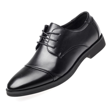 Luxury Business Oxford Leather Shoes Men Breathable Rubber F