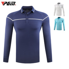 PGM Golf T-Shirts Sportswear Full-Sleeve Spring Autumn Anti-Pilling Breathable Warm