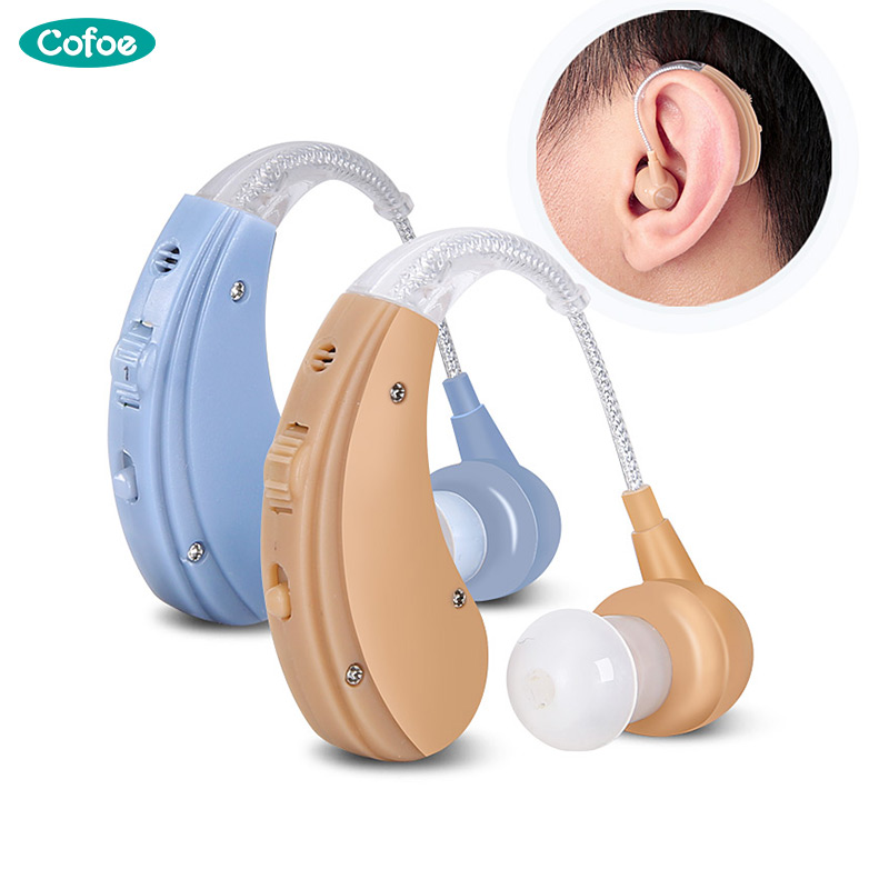 Cofoe Hearing Aid Rechargeable Sound Amplifier Adjustable Hearing Aids For The Elderly Hearing Loss