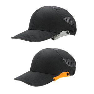 Image 4 - Safety Bump Cap With Reflective Head Workplace Construction Site Hat Black Stripes Lightweight and Breathable Hard Hat