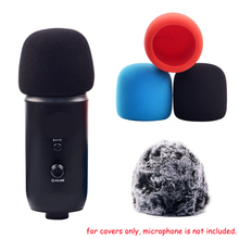 Professional Furry Windscreen Foam Covers for Yeti Pro Microphones Noise & Wind Proof Filter Fur Cover