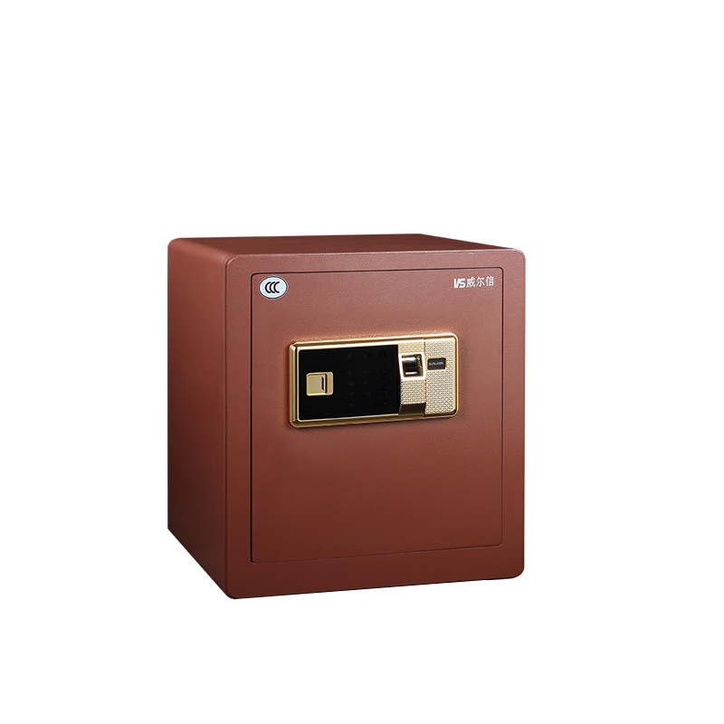 FG Wilson Steel Household Fingerprint Safe Box Small Mini Anti-Theft Electronic Password Office Safety Box Manufacturers