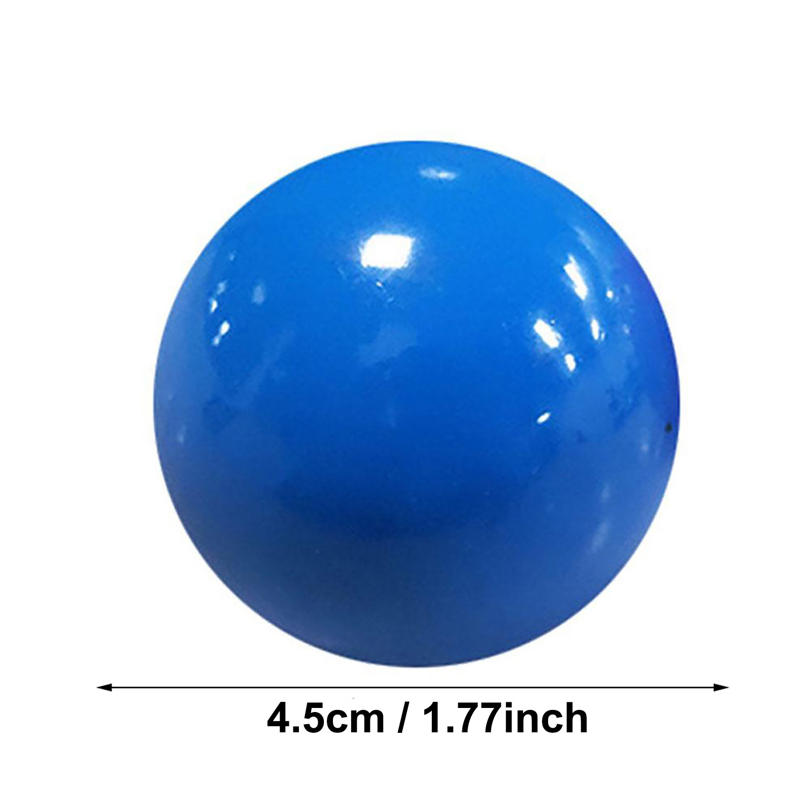 Globbles Stick Wall Ball Fluorescent Toys For Kids Sticky Wall Ball Sticky Target Ball img2