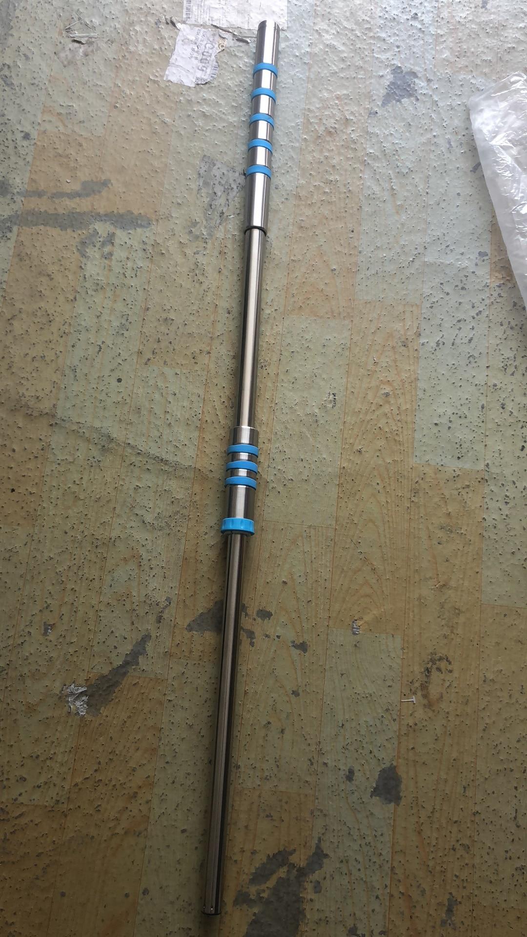 Prodotti e attrezzature per pulizia casa Secchio Set di 360 ° di rotazione doppia unità mop pressione della mano di Trasporto Lavaggio A Mano Mop In Acciaio Inox Maniglia D20 - 4