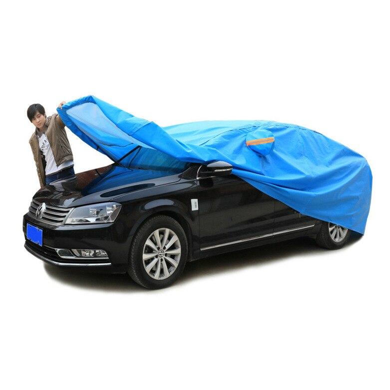 Fabricants vente directe bâche de voiture résistant au soleil été collège Style semi-automatique bâche de voiture une génération de graisse en gros