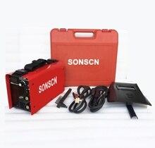 Maquina De Soldar 110-220v bi voltaje ARC200 for 4.0mm(5/32') E7018.E6013E6010.E6011 welding
