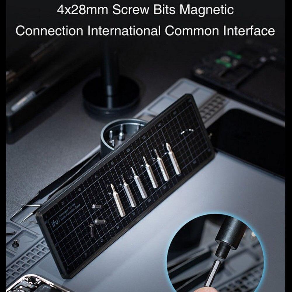 H13498ec7e25743ee945b55c0bcb05d39X - Electric Screwdriver  3-speed Screwdrivers Pen 24pcs Precision Bits Set Cordless Magnetic Screw Driver Phone Device Repair