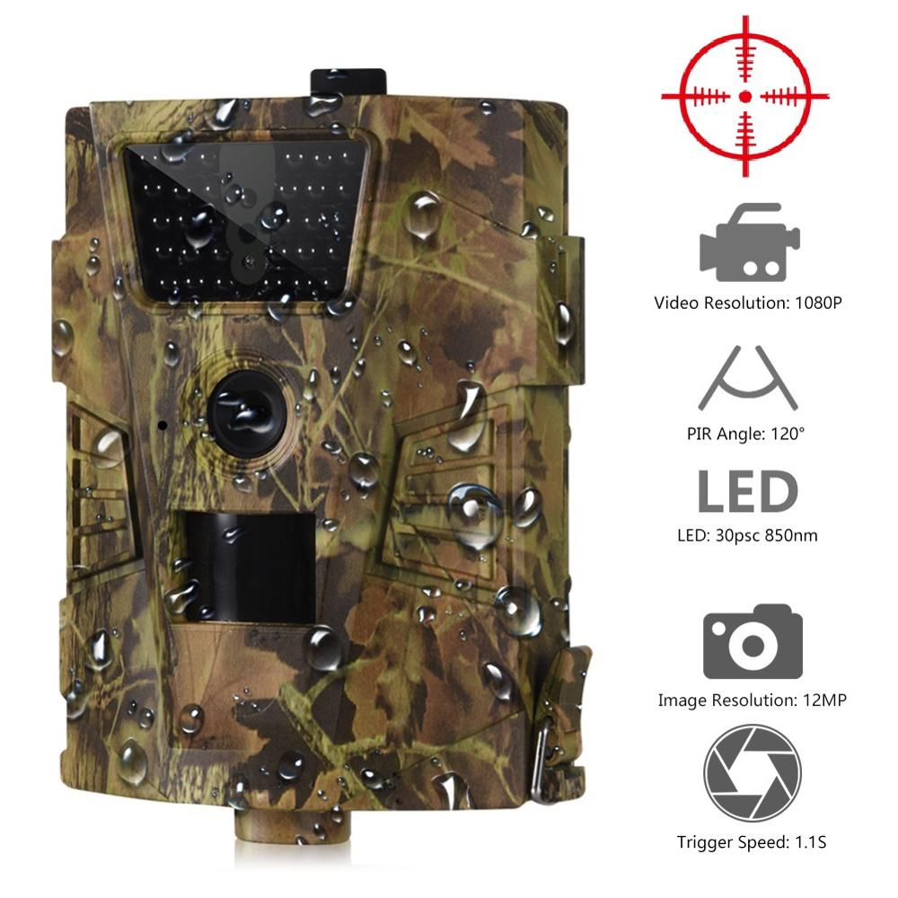 Hunting-Trail-Camera Photo-Traps Chasse Animal Night-Vision 940nm HT-001HT001-B GPRS