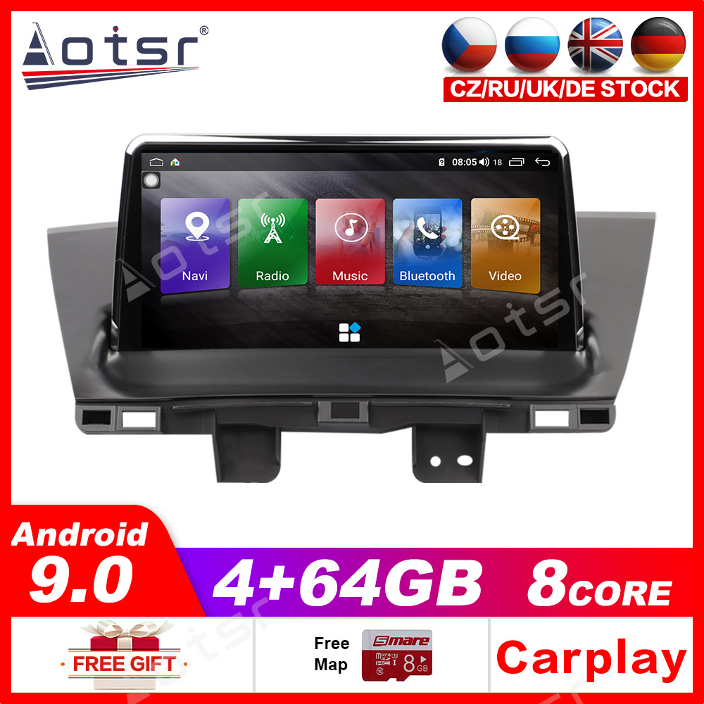 Car GPS Navigation Android 9.0 64GB Multimedia Player Auto Stereo For Honda CRV 2012-2016 Radio Tape Recorder Stereo Head unit image