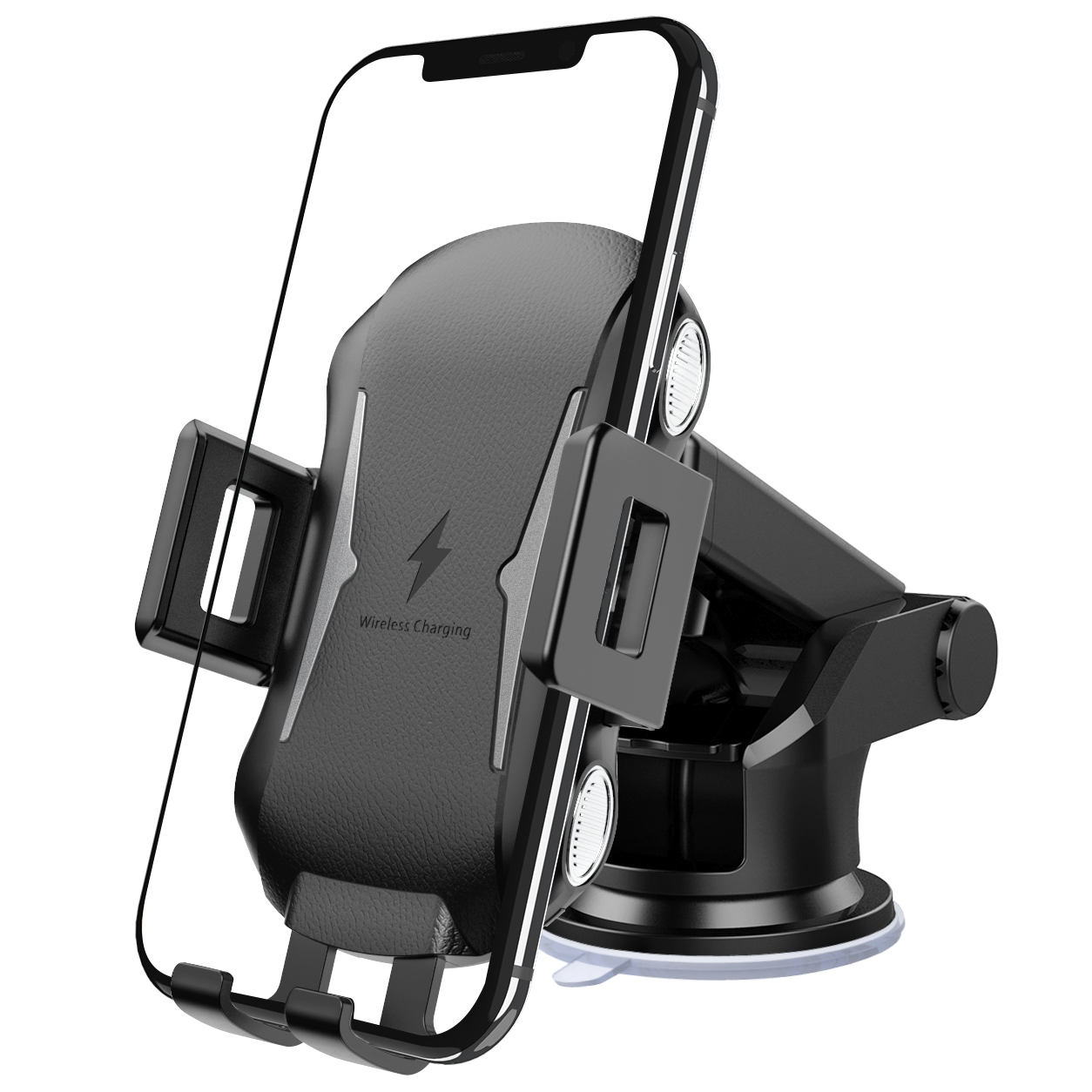 New c20 smart fast charge car phone wireless charger bracket outlet sucker FOR:IPHONE Samsung Huawei xiaomi OPPO VIVO|Wireless Chargers| |  - title=