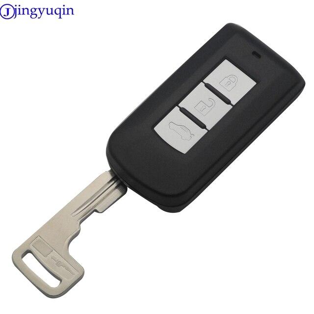 Keyecu coque de clé 3 boutons | Nouveau, pour télécommande Mitsubishi Lancer Outlander 2008 2009 2010 2011 2012 2013 2014 2015 2016