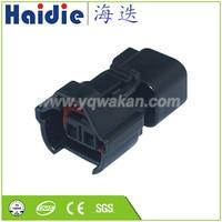 O envio gratuito de 5 conjuntos 2pin conector do injetor combustível automático fiação cabo elétrico conector