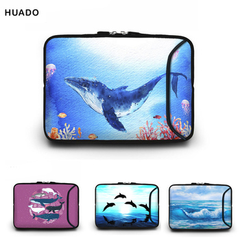 13.3 14inch whale image Laptop bag 10 12 13 14 15.6 17.3 Notebook case for ipad/macbook air/pro/lenovo/asus laptop accessories