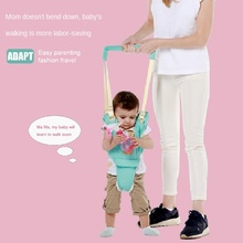 Toddler Belt Rope Walking-Assistant Learning-To-Walk-Traction Baby Anti-Fall And Basket-Type
