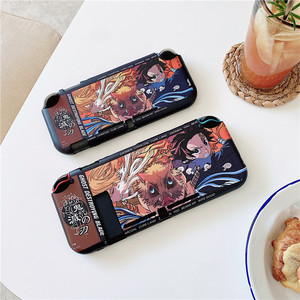 Image 5 - Anime Demon Slayer Case For Nintendo Nintend Switch NS NX Game Cases TPU Silicone Back Cover For Switch Lite Case Cute Funda