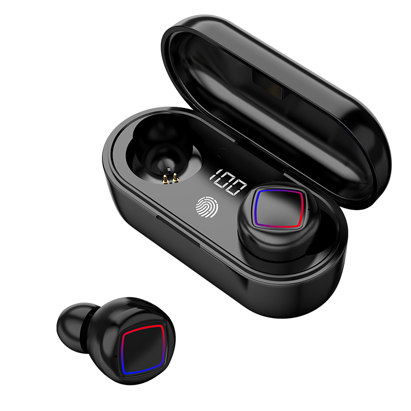 TWS 5.0 6D Stereo Bluetooth Earphone Touch Control Wireless Headphones Earbuds Sport IPX6 Waterproof Earphone Fit for all phones