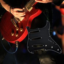 ST Electric Guitar Pickguard Scratch Plate for Strat Stratocaster Modern Style Pick Guard Guitar Accessories